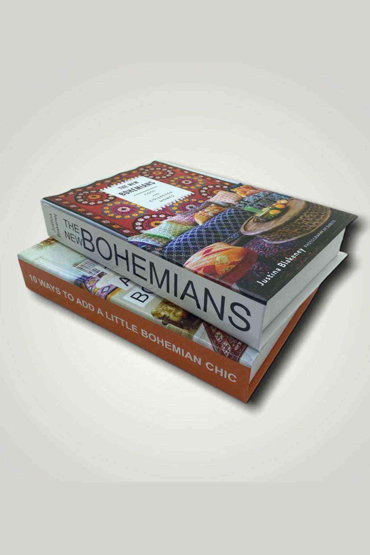 Bohemians 10 Ways Dekoratif 2li Kitap Kutusu Set